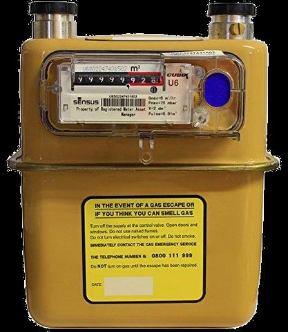 Sensus U6 Gas Meter