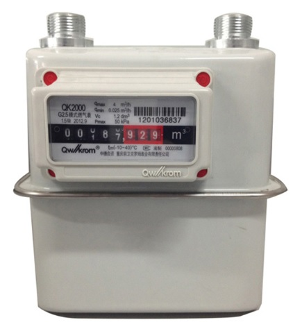 QK 2000 Dumb Gas Meter