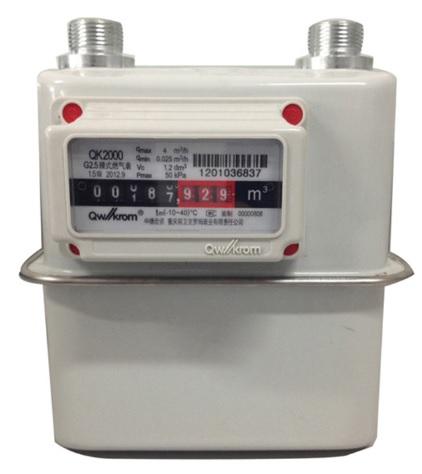 QK 2000 Dumb Gas Meter